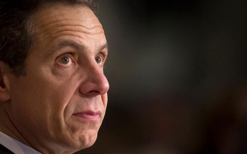 El Gobernador de Nueva York Andrew Cuomo